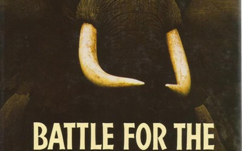 Front Cover of Battle for the Elephants by Iain & Oria Douglas-Hamilton