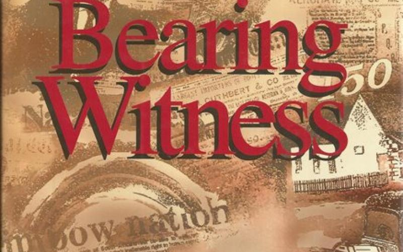 Front cover of Bearing Witness by Simon Haw