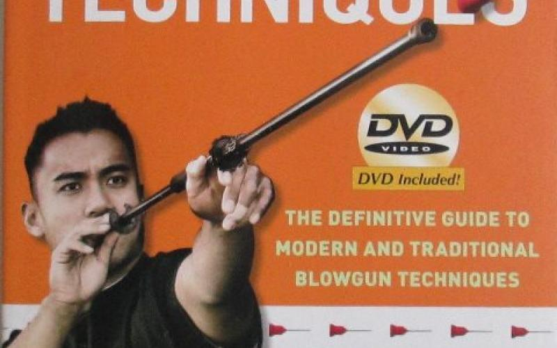 Front cover of Blowgun Techniques by Amante P Marinas, Sr
