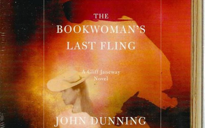 Front cover of The Bookwoman's Last Fling (CD) by John Dunning