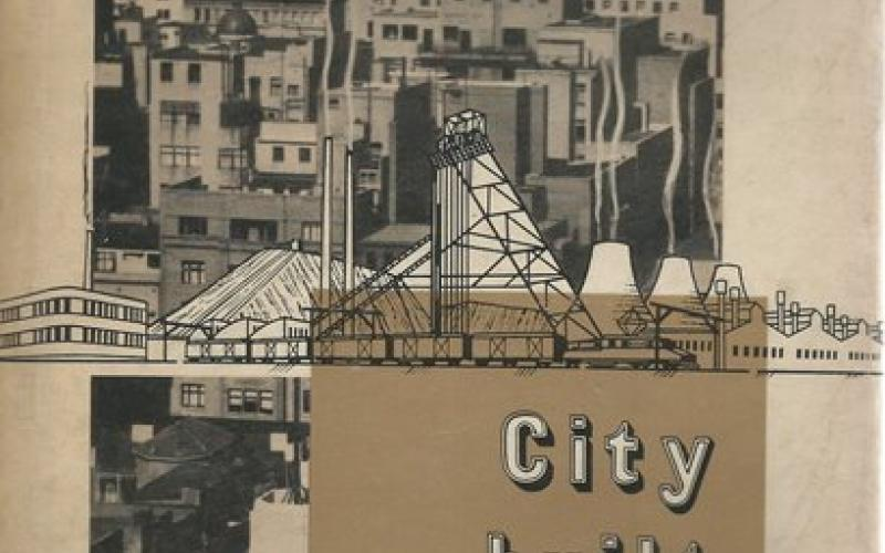 Front Cover of City Built on Gold by L E Neame
