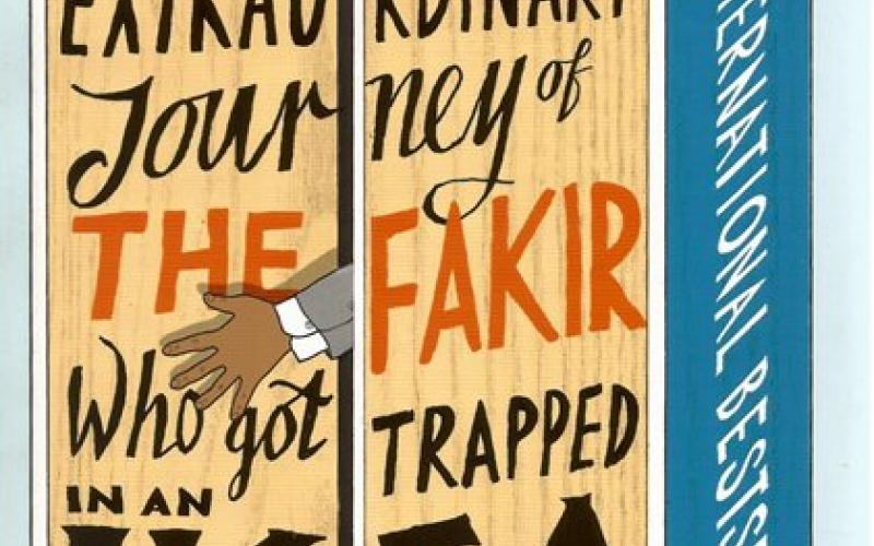 Front cover of The Extraordinary Journey of the Fakir who got Trapped in an Ikea Wardrobe by Romain Puertolas