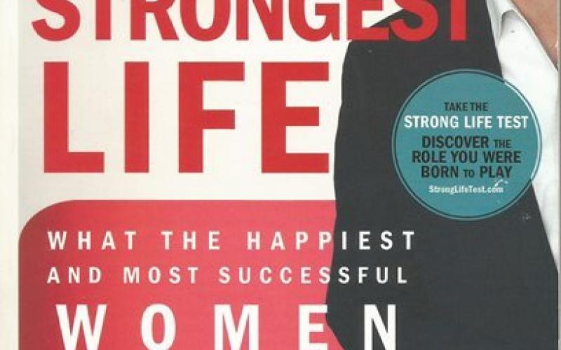 Front cover of Find your Strongest Life by Marcus Buckingham