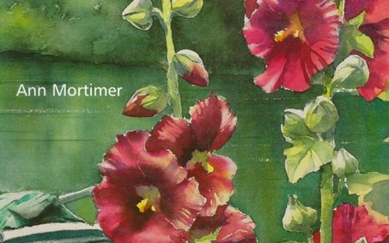 Front cover of Flowers in the Landscape by Ann Mortimer