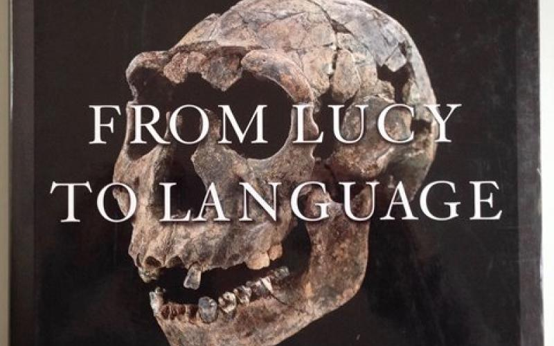 Front Cover of From Lucy to Language by Donald Johanson and Blake Edgar