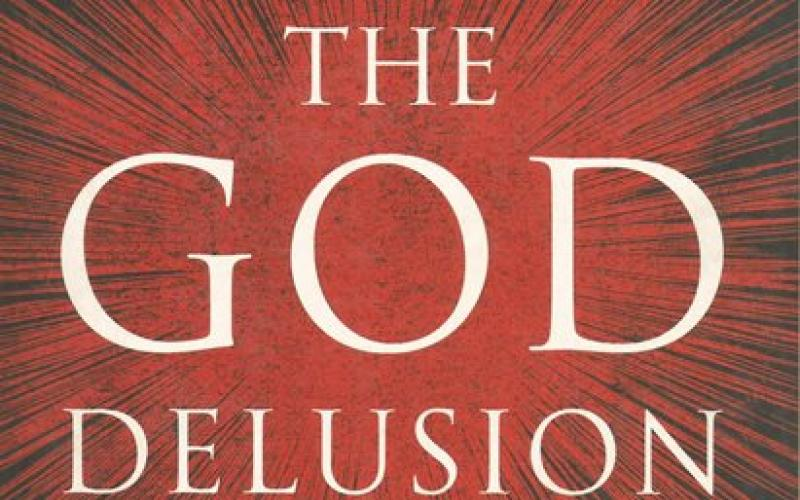 Front cover of The God Delusion by Richard Dawkins