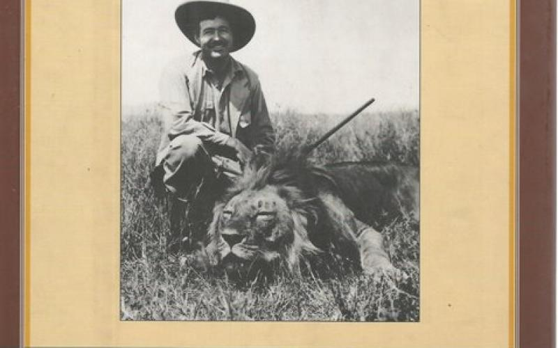 Front Cover of Hemingway on Hunting by Ernest Hemingway