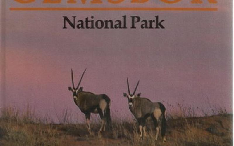 Front Cover of Guide to the Kalahari Gemsbok National Park by Gus Mills and Clem Haagner