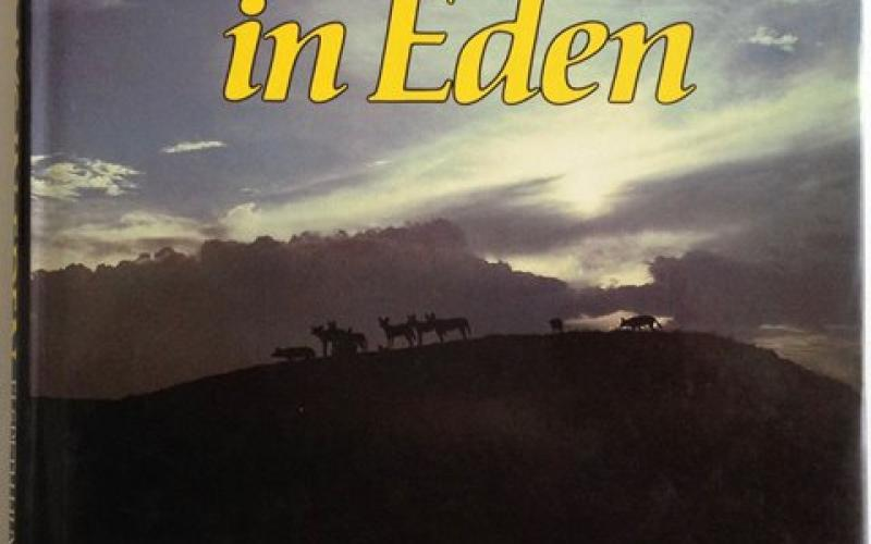 Front Cover of Last Days in Eden by Elspeth Huxley & Hugo van Lawick