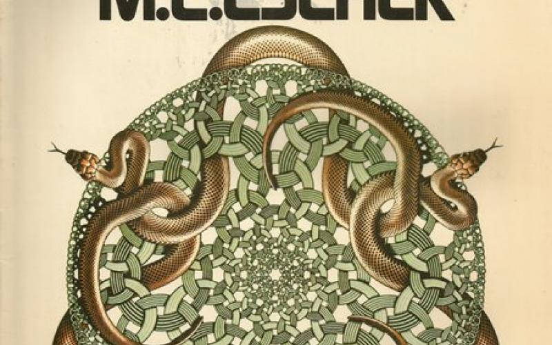 Front Cover of The Magic Mirror of M C Escher by Bruno Ernst
