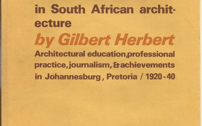 Front cover of Martienssen and the International Style by Gilbert Herbert