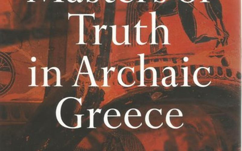 Front Cover of The Masters of Truth in Archaic Greece by Marcel Detienne