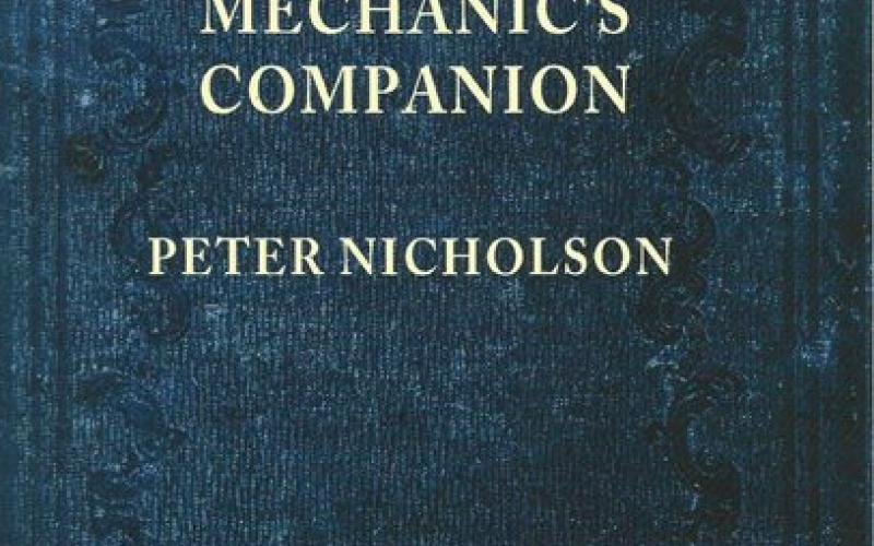 Front cover of Mechanic's Companion by Peter Nicholson