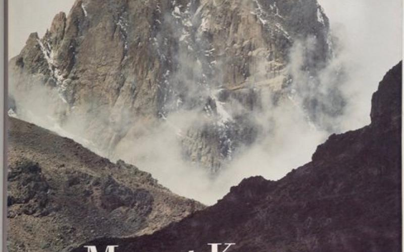 Front Cover of Mount Kenya by John Reader