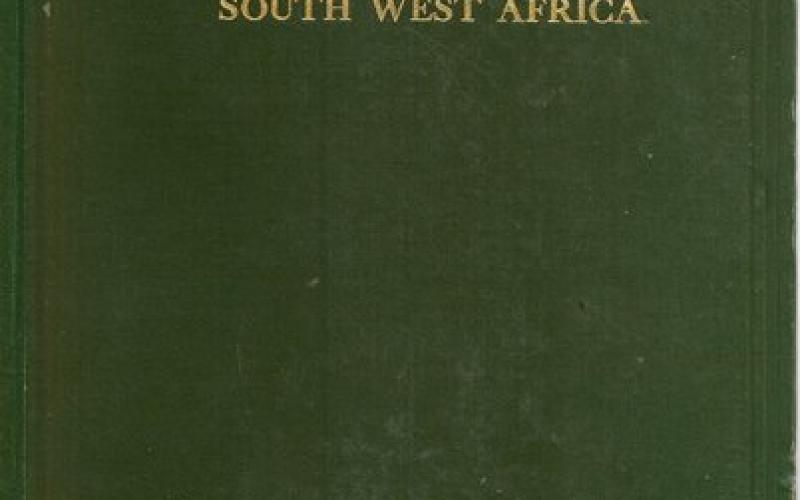 Front Cover of The Native Tribes of South West Africa - CHL Hahn, H Vedder and L Fourie