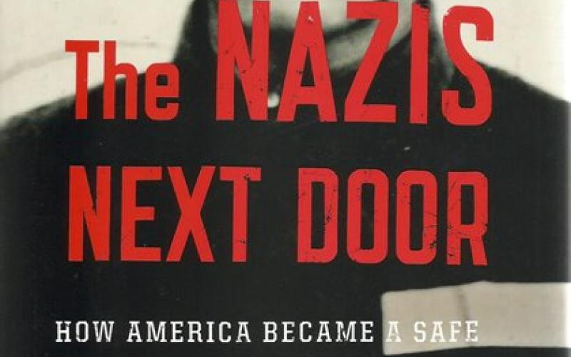 Front cover of The Nazis Next Door by Eric Lichtblau
