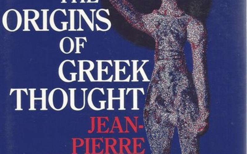 Front Cover of The Origins of Greek Thought by Jean-Pierre Vernant