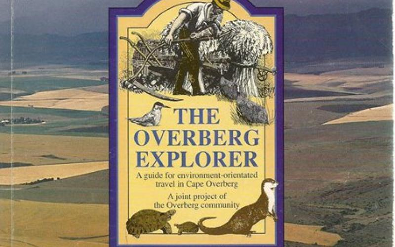 Front Cover of The Overberg Explorer compiled by Ann Scott