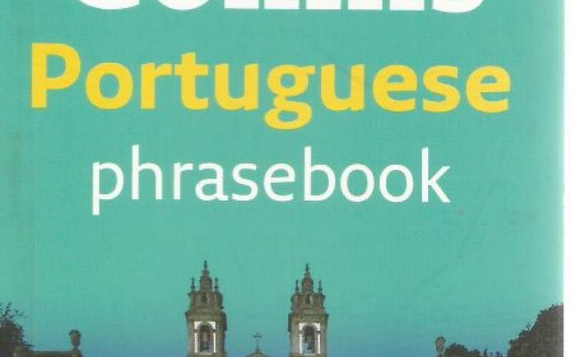 Front cover of Collins Portuguese Phrasebook and Dictionary