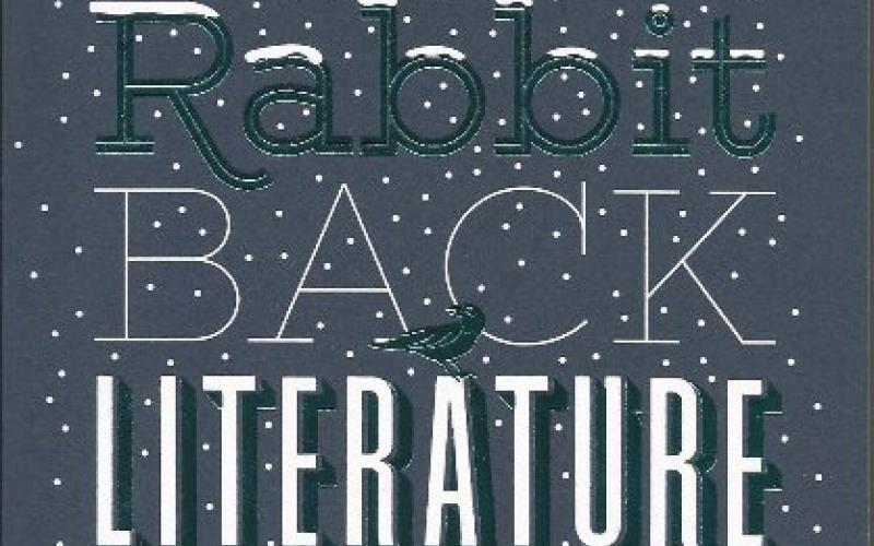 Front cover of The Rabbit Back Literature Society by Pasi Ilmari Jaaskelainen