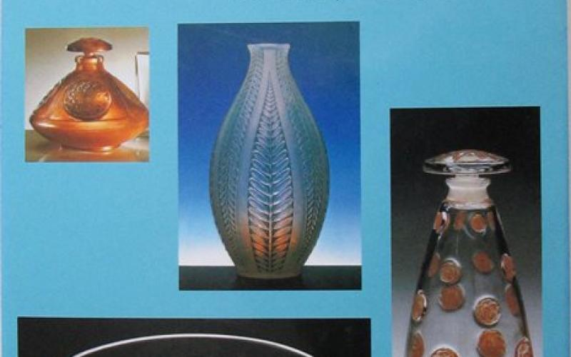 Front cover of the Art of Rene Lalique by Patricia Bayer & Mark Waller
