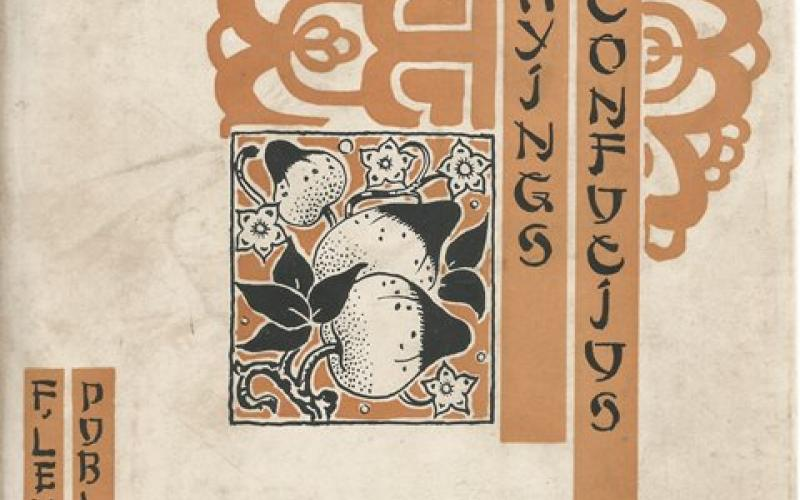 Front Cover of The Sayings of Confucius by Confucius