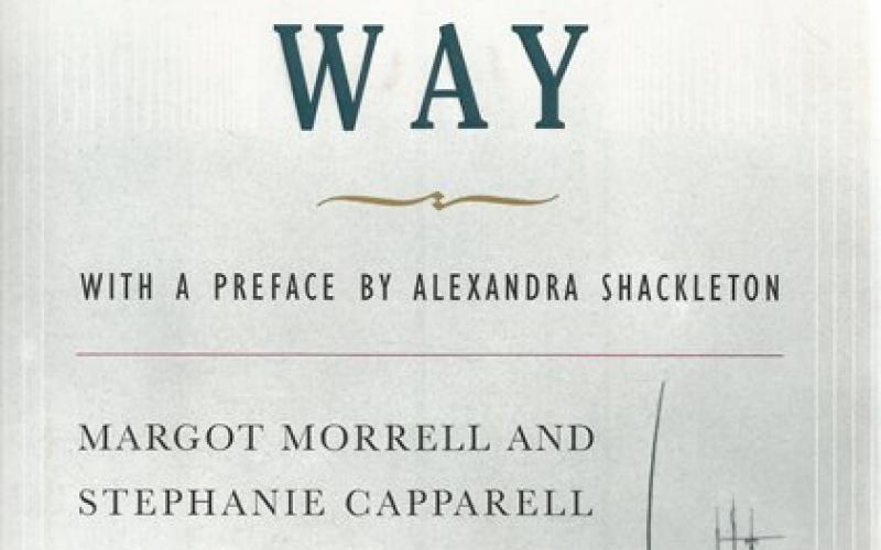 Front Cover of Shackleton's Way by Margot Morrell and Stephanie Capparell