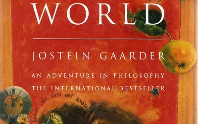 Front cover of Sophie's World by Jostein Gaarder