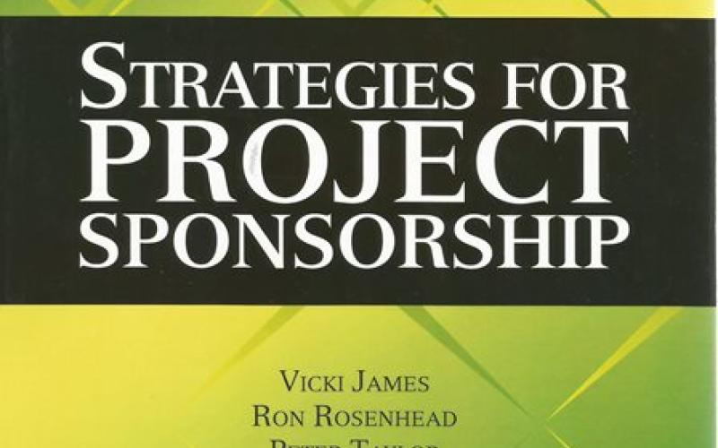 Front cover of Strategies for Project Sponsorship by Vicki James, et al