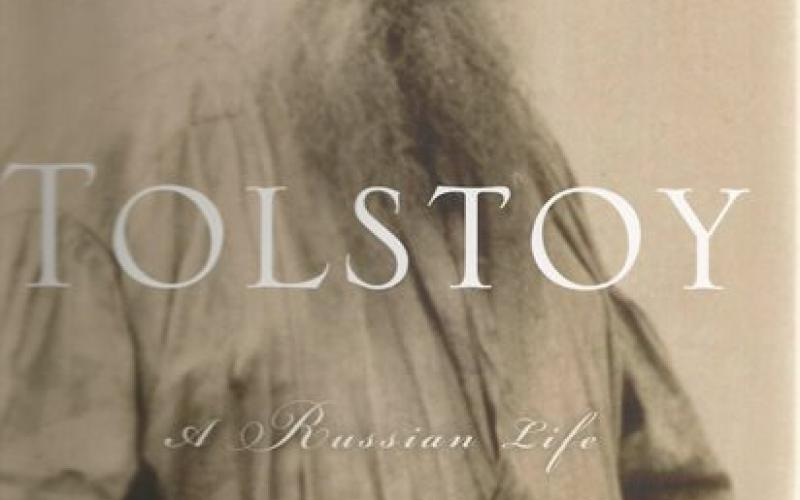 Front cover of Tolstoy by Rosamund Bartlett