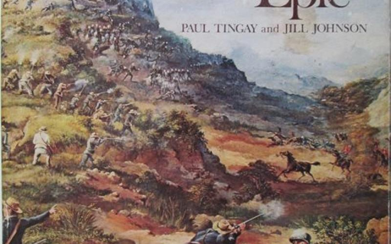 Front cover of Transvaal Epic by Paul Tingay and Jill Johnson