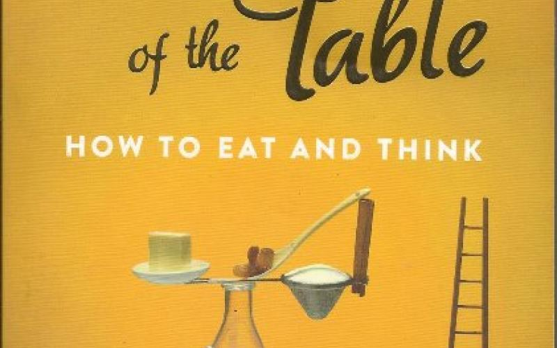Front cover of The Virtues of the Table by Julian Baggini