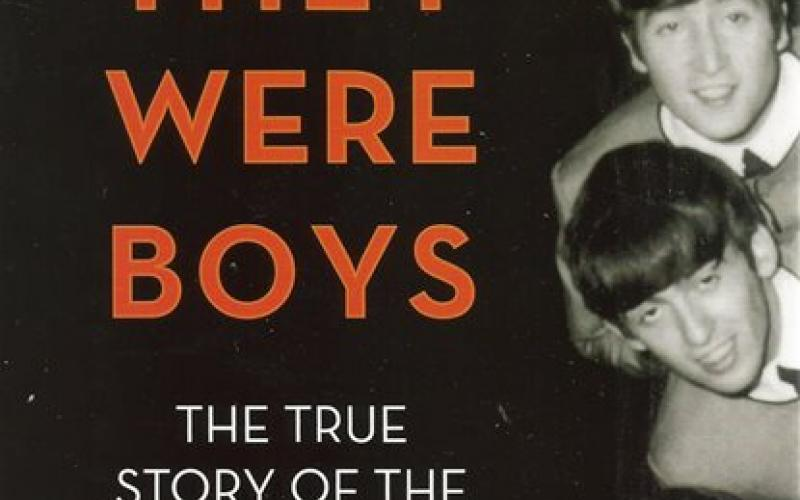 Front cover of When They Were Boys by Larry Kane