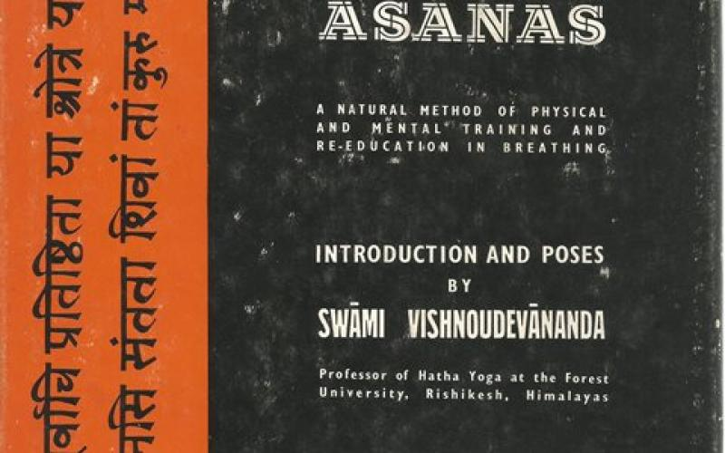Front cover of Yoga Asanas by Louis Frederic