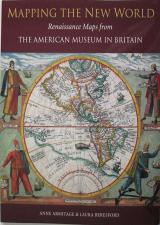 Front cover of Mapping the New World by Anne Armitage and Laura Beresford