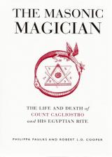 Front cover of The Masonic Magician by Philippa Faulks and Robert L D Cooper
