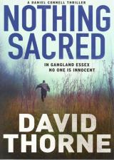 Front cover of Nothing Sacred by David Thorne