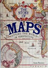 Front cover of The Story of Maps by Anne Rooney