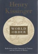 Front Cover of World Order by Henry Kissinger
