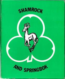 Front cover of Shamrock And Springbok by S. Monick