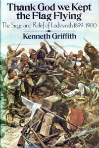 Front cover of Thank God We Kept The Flag Flying by Kenneth Griffith