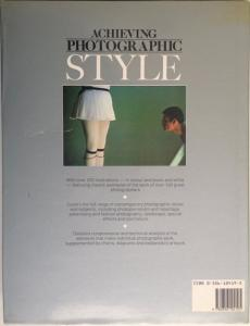 Back Cover of Achieving Photographic Style by Michael Freeman