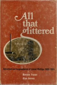 Front Cover of All That Glittered by Maryna Fraser and Alan Jeeves