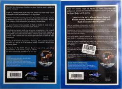 Back Covers of Apollo 11, the NASA Mission Reports edited by Robert Godwin