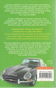 Back cover of Born to be Riled by Jeremy Clarkson