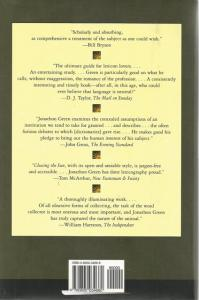 Back Cover of Chasing the Sun by Jonathan Green