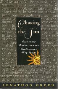Front Cover of Chasing the Sun by Jonathan Green