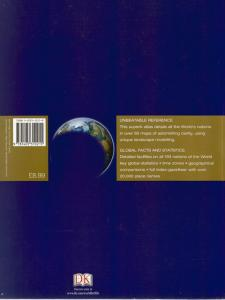 Back Cover of Compact Atlas of the World edited by Andrew Heritage
