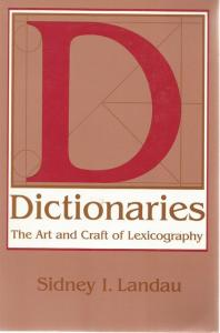 Front Cover of Dictionaries by Sidney I Landau