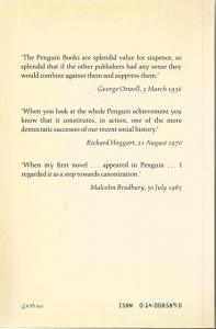 Back Cover of Fifty Penguin Years by Linda Lloyd Jones and Jeremy Aynsley